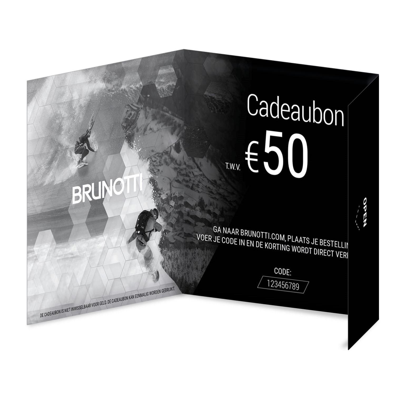 Brunotti Giftcard 50 Euro Uni