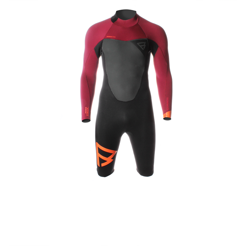 Brunotti Defence Longarm Shorty (Red) - MEN WETSUITS - Brunotti online shop