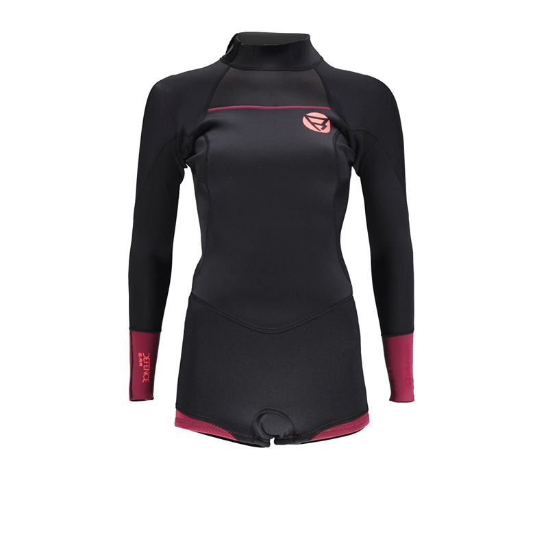 Brunotti Defence 3/2 BZ Women Longarm Shorty (red) - women wetsuits - Brunotti online shop