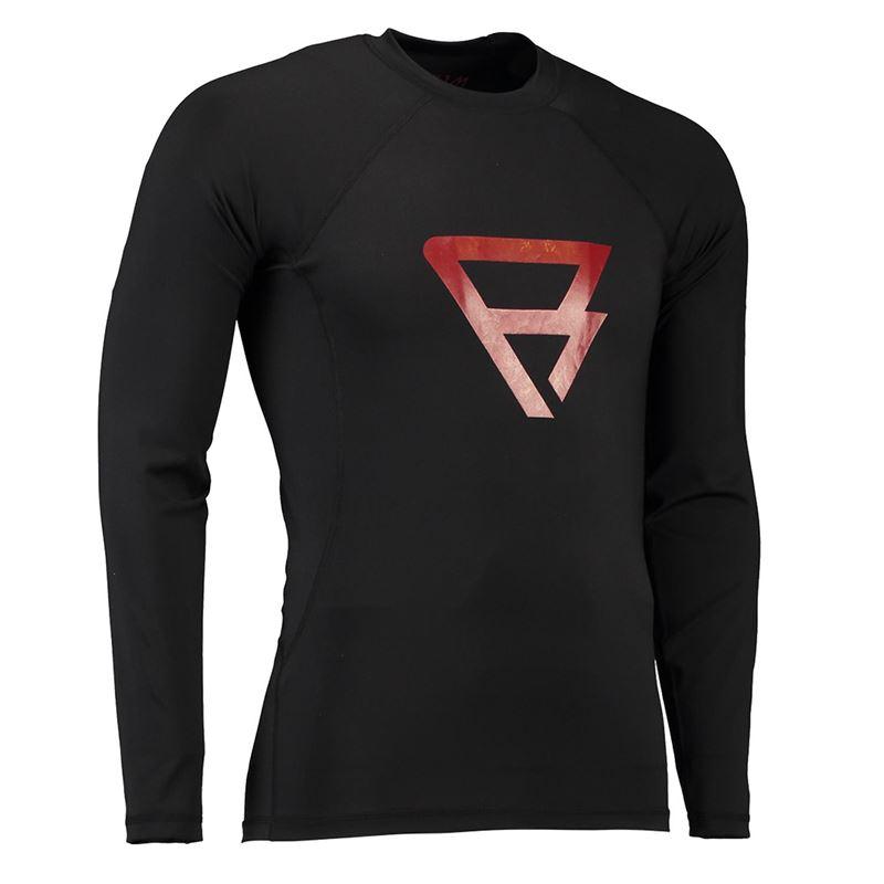 Brunotti Defence Rashguard  (Black) - MEN TECHNICAL TOPS - Brunotti online shop