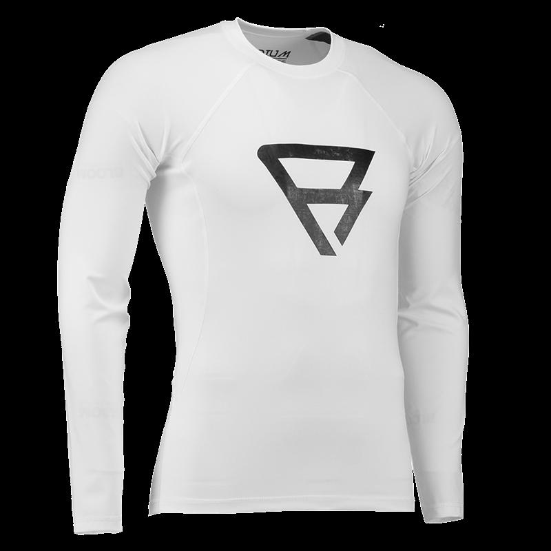 Brunotti Defence Rashguard  (White) - MEN TECHNICAL TOPS - Brunotti online shop