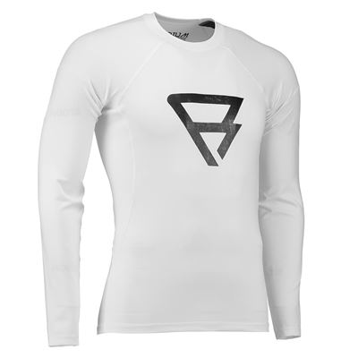Brunotti Defence Rashguard Junior. Beschikbaar in L / 158,M / 152,S / 140,XL / 164 (100017-WHITE)