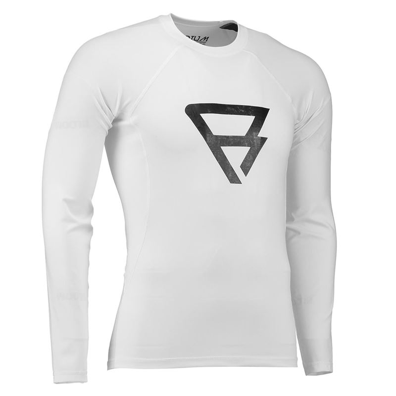 Brunotti Defence Rashguard Junior (weiß) - jungen technical tops - Brunotti online shop