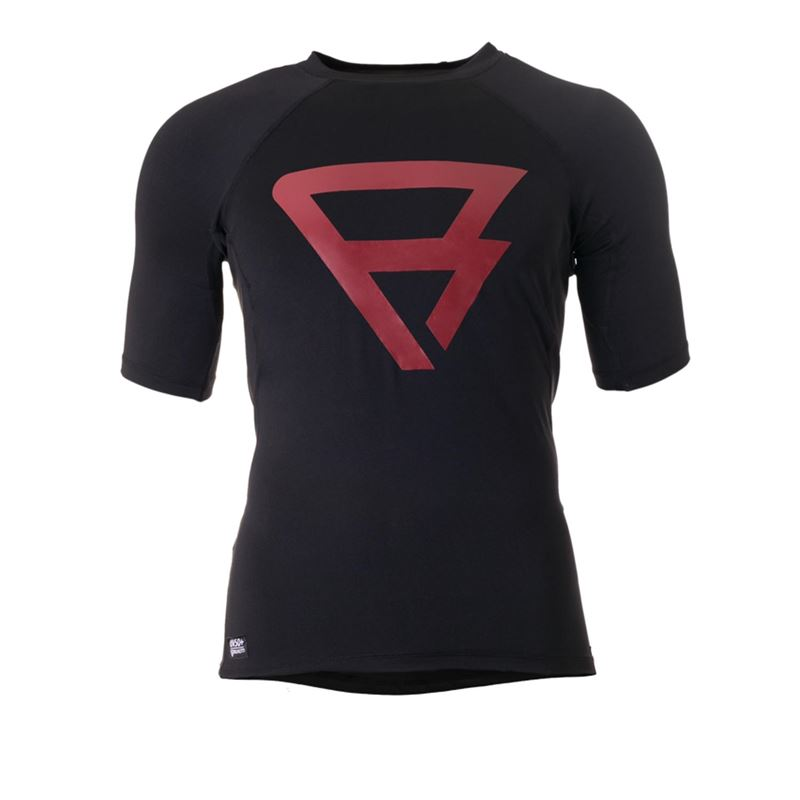 Brunotti Defence Rashguard S/S Men (Black) - MEN TECHNICAL TOPS - Brunotti online shop