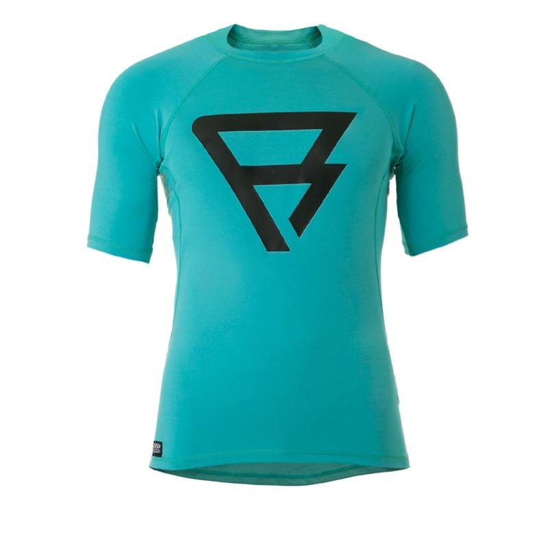 Brunotti Defence  (blauw) - heren technical tops - Brunotti online shop