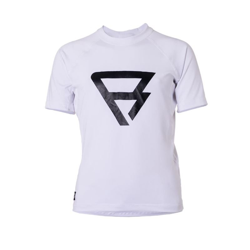 Brunotti Defence Rashguard S/S Junior Rashguard (white) - boys technical tops - Brunotti online shop