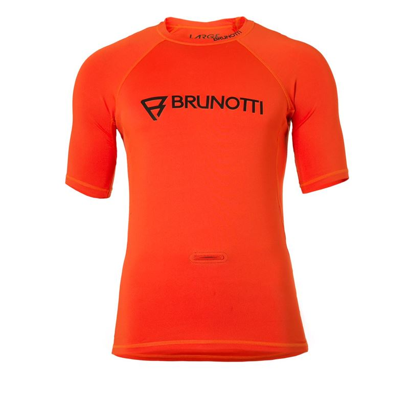 Brunotti Event Rashguard Men Rashguard (oranje) - heren technical tops - Brunotti online shop