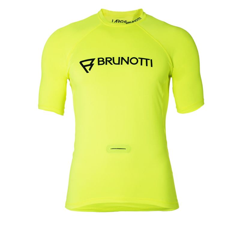 Brunotti Event Rashguard Men Rashguard (geel) - heren technical tops - Brunotti online shop