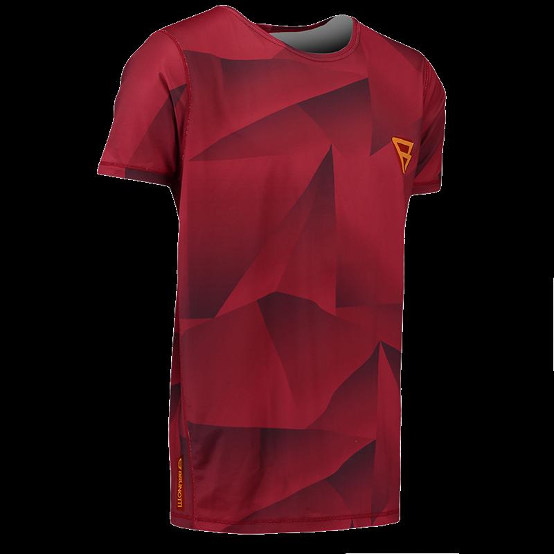 Brunotti Bravery Tee (Red) - MEN TECHNICAL TOPS - Brunotti online shop