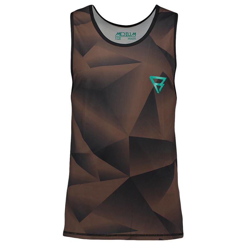 Brunotti Bravery Tanktop (Brown) - MEN TECHNICAL TOPS - Brunotti online shop
