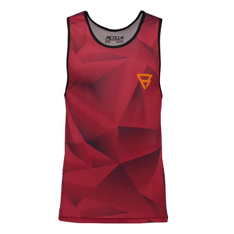 Brunotti Bravery Tanktop (Rood) - HEREN TECHNICAL TOPS - Brunotti online shop