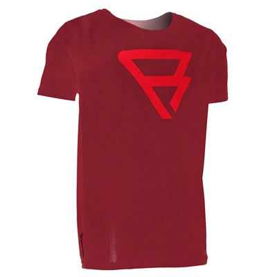 Brunotti Defence Tee. Verfügbar in S (100026-DARKRED)