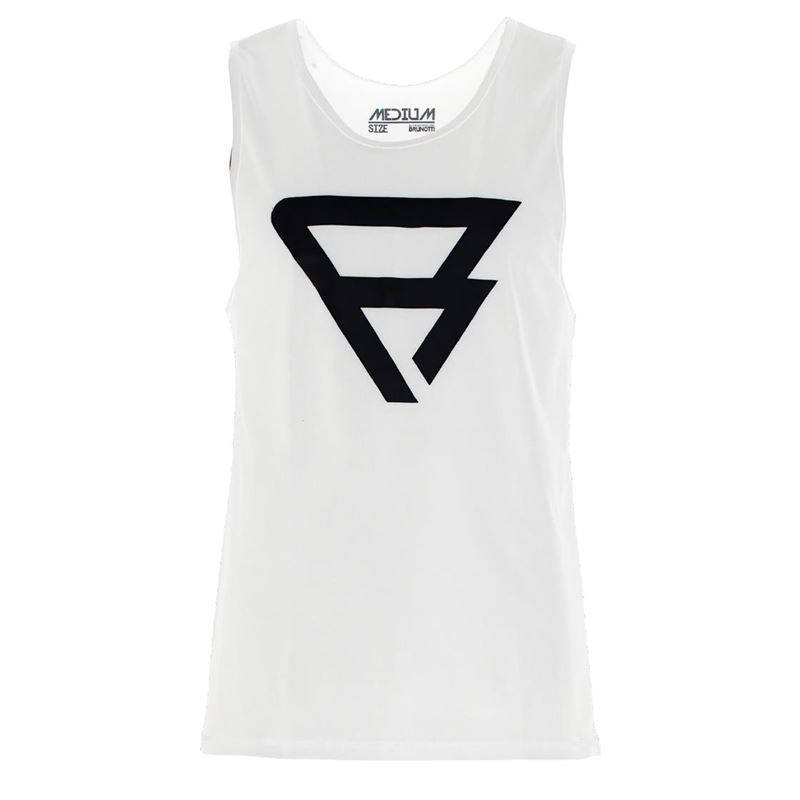 Brunotti Defence Tanktop (White) - MEN TECHNICAL TOPS - Brunotti online shop