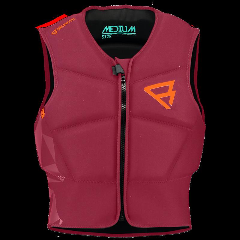 Brunotti Neo Impact Vest (Rood) - HEREN KITE IMPACT VESTS - Brunotti online shop