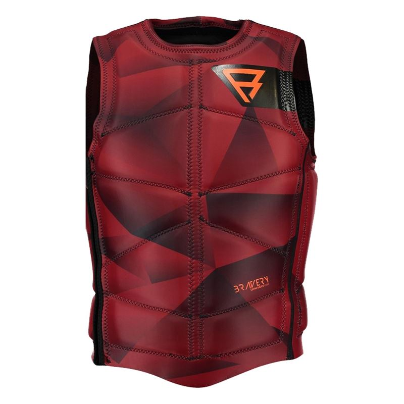 Brunotti Bravery Wake Vest (red) - men wake vests - Brunotti online shop