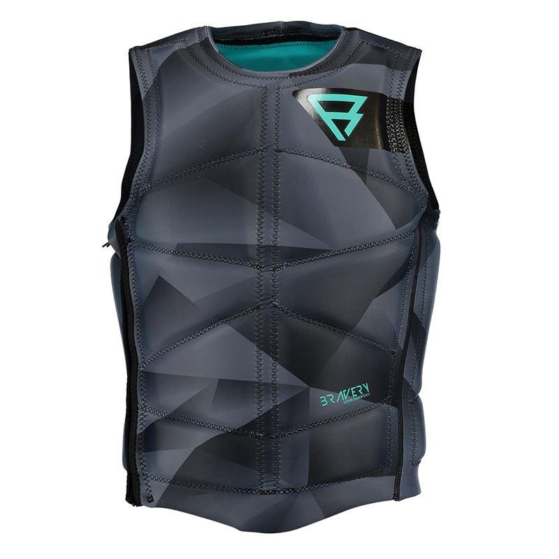 Brunotti Bravery Wake Vest (grey) - men wake vests - Brunotti online shop
