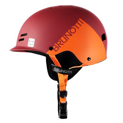 Brunotti Bravery Helmet. Available in S/M,L/XL (100045-REDORANGE)