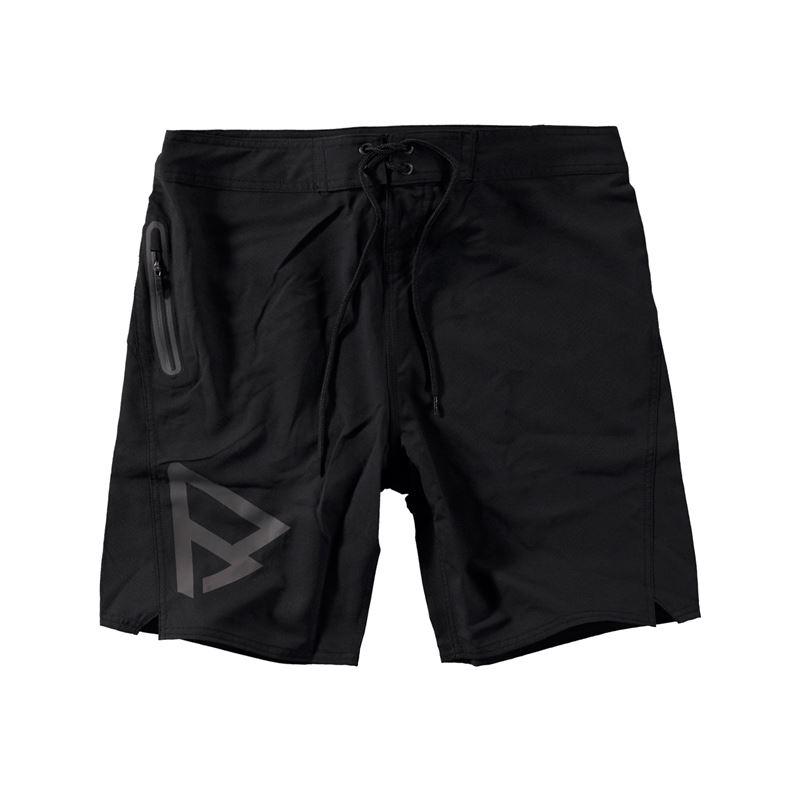 Brunotti Logo Boardshort Men Short (Zwart) - HEREN ZWEMSHORTS - Brunotti online shop