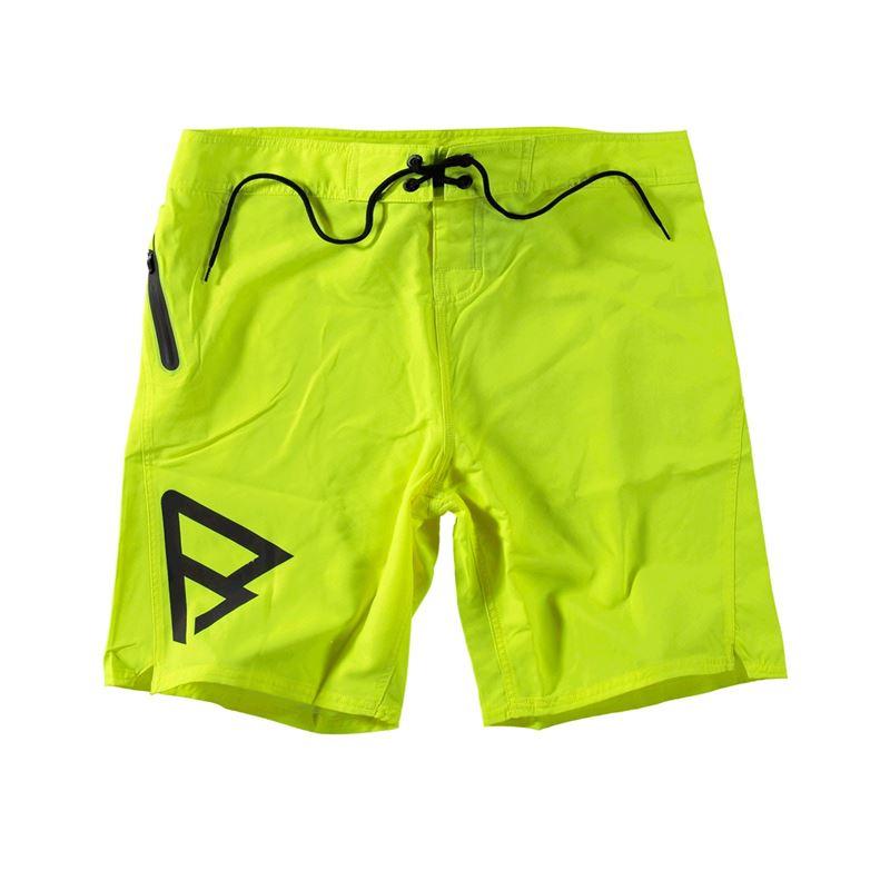 Brunotti Logo Boardshort Men Short (Geel) - HEREN ZWEMSHORTS - Brunotti online shop