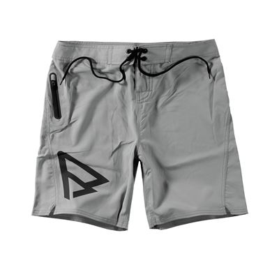 Brunotti Logo Boardshort Men Short. Verfügbar in 28,29,30,33 (100048-LIGHTGREY)