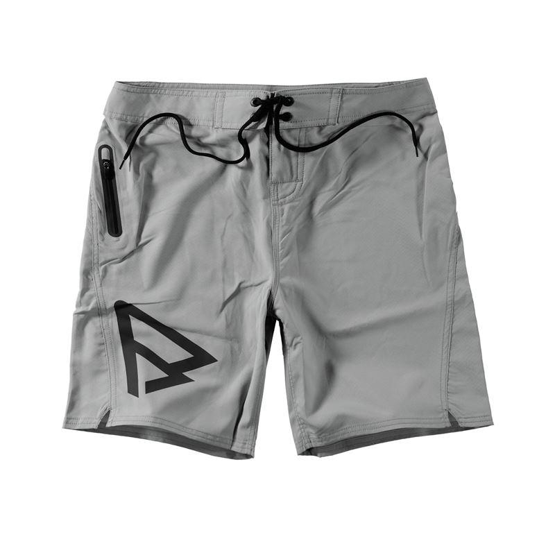 Brunotti Logo Boardshort Men Short (Grey) - MEN SWIMSHORTS - Brunotti online shop
