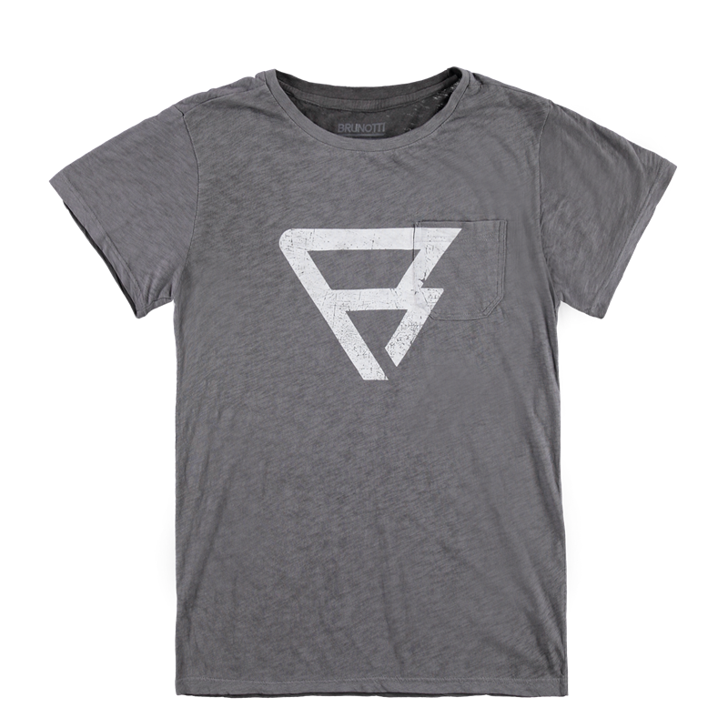 Brunotti Pocket Tee Men T-shirt (Grey) - MEN T-SHIRTS & POLOS - Brunotti online shop