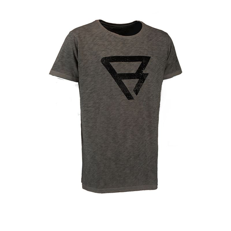 Brunotti Round Tee Men T-shirt (Grau) - HERREN T-SHIRTS & POLOS - Brunotti online shop