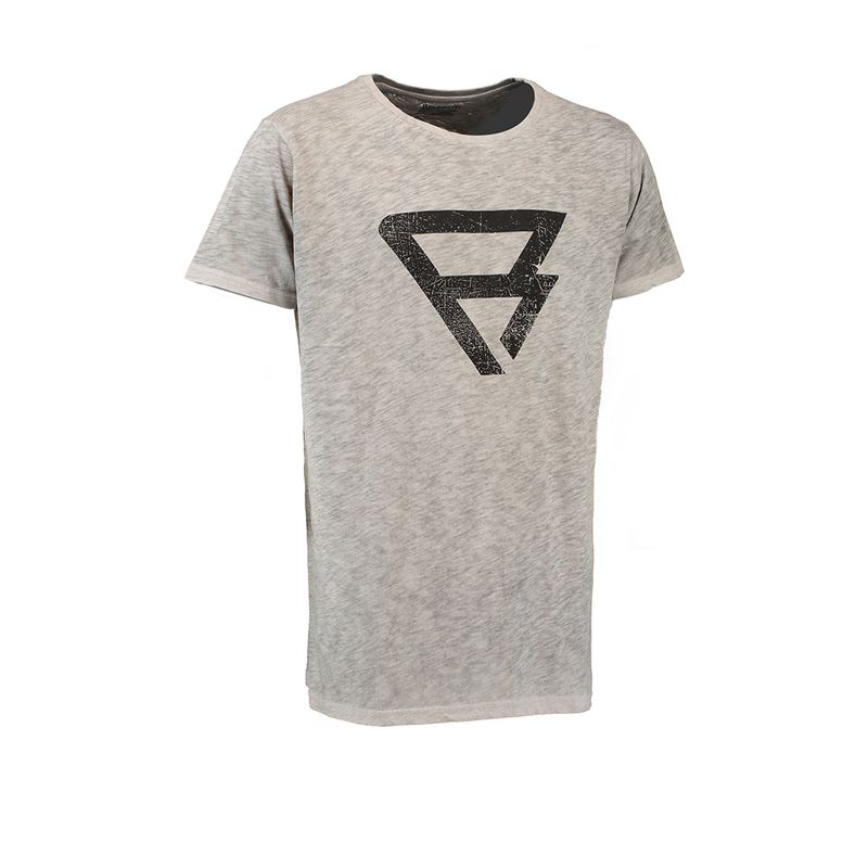 Brunotti Round Tee Men T-shirt (Grey) - MEN T-SHIRTS & POLOS - Brunotti online shop