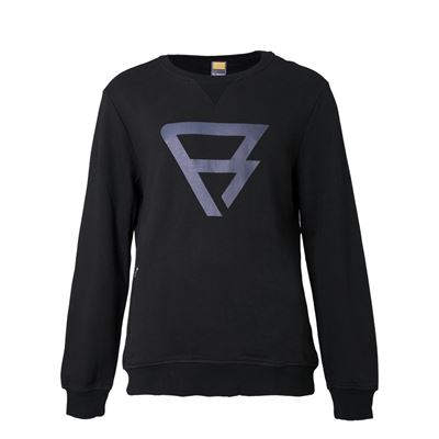 Brunotti Traingle Crewneck Men Crewneck. Beschikbaar in XS,XL,XXL (100057-BLACK)