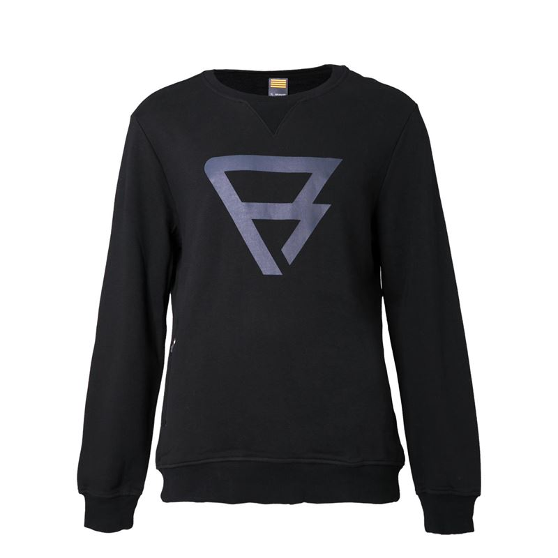 Brunotti Traingle Crewneck Men Crewneck (Black) - MEN JUMPERS & CARDIGANS - Brunotti online shop