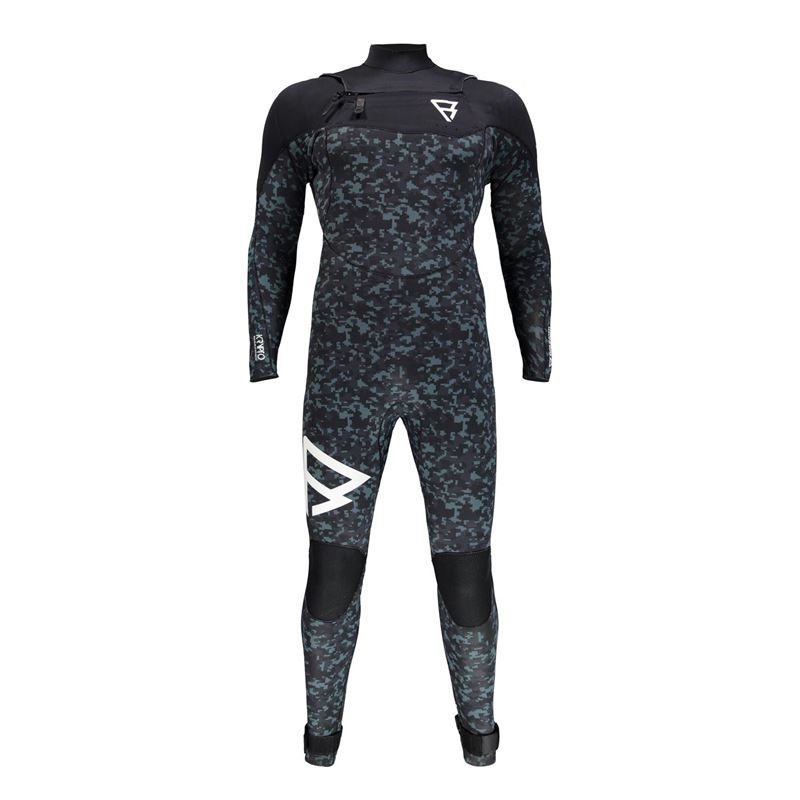 Brunotti Krypto 5/3 FZ Men Wetsuit (Schwarz) - HERREN WETSUITS - Brunotti online shop