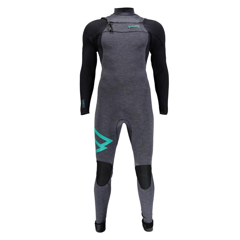Brunotti Bravery 3/2 D/L FZ Men (grey) - men wetsuits - Brunotti online shop