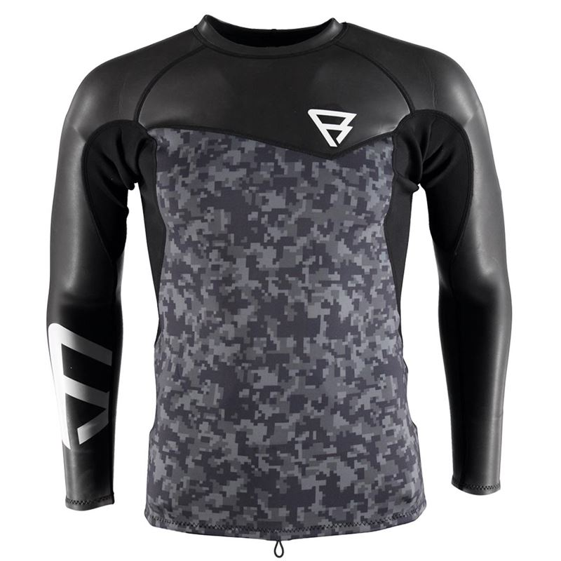 Brunotti Krypto Neotop L/S 2/2 Men (Zwart) - HEREN TECHNICAL TOPS - Brunotti online shop