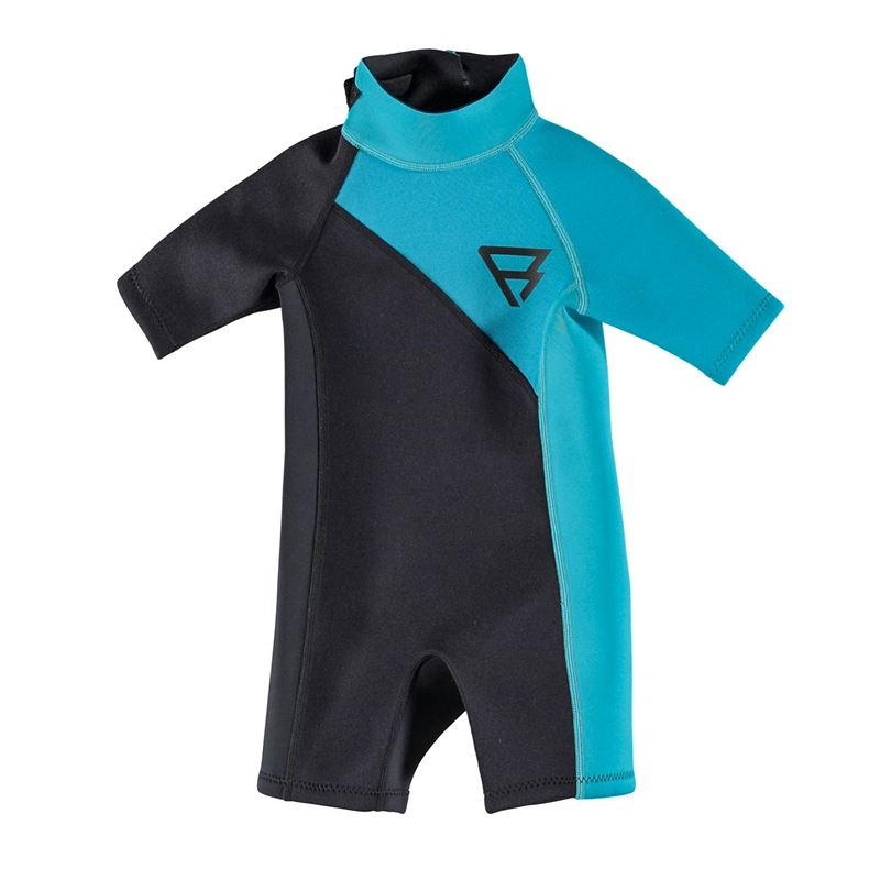 Brunotti Jibe Shorty 2/2 D/L Junior Wetsuits (green) - boys wetsuits - Brunotti online shop
