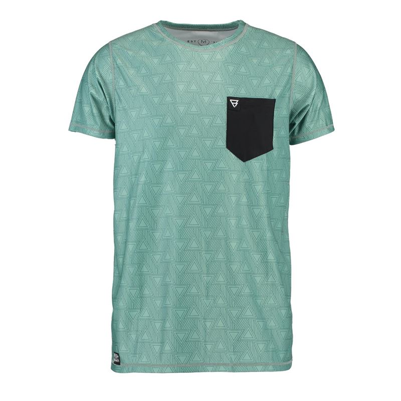 Brunotti Sunrise  (green) - men technical tops - Brunotti online shop