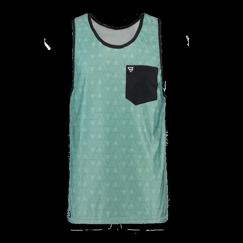 Brunotti Sunrise Tanktop (Green) - MEN TECHNICAL TOPS - Brunotti online shop