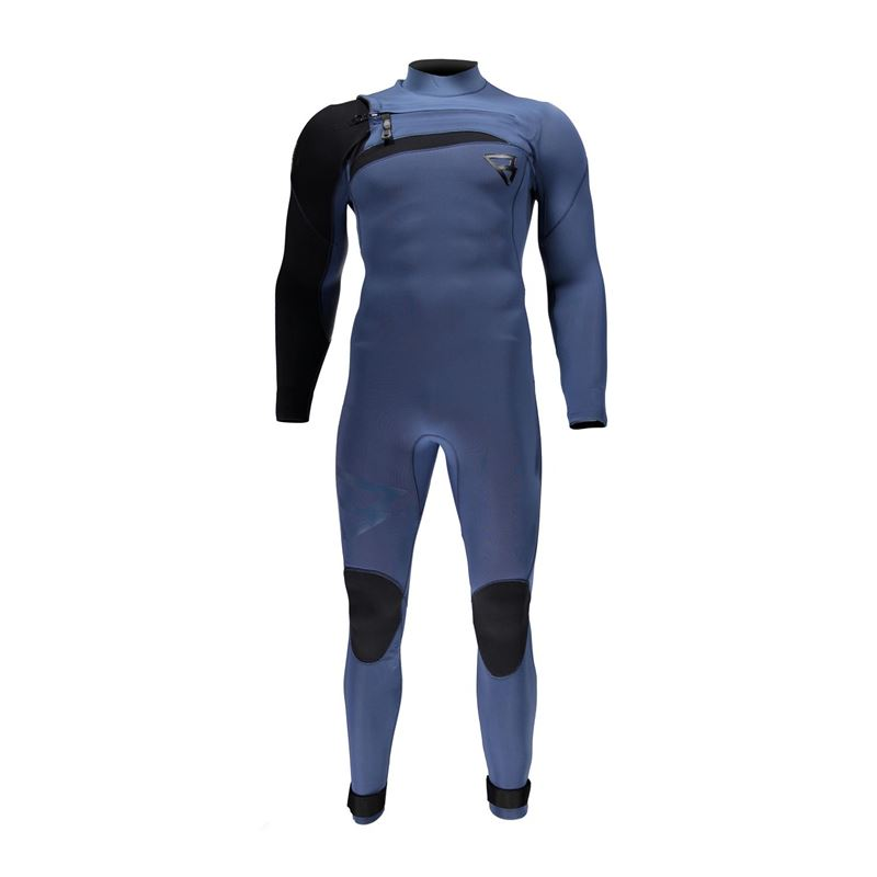 Brunotti Bravo 3/2 FZ Men Wetsuit (blauw) - heren wetsuits - Brunotti online shop