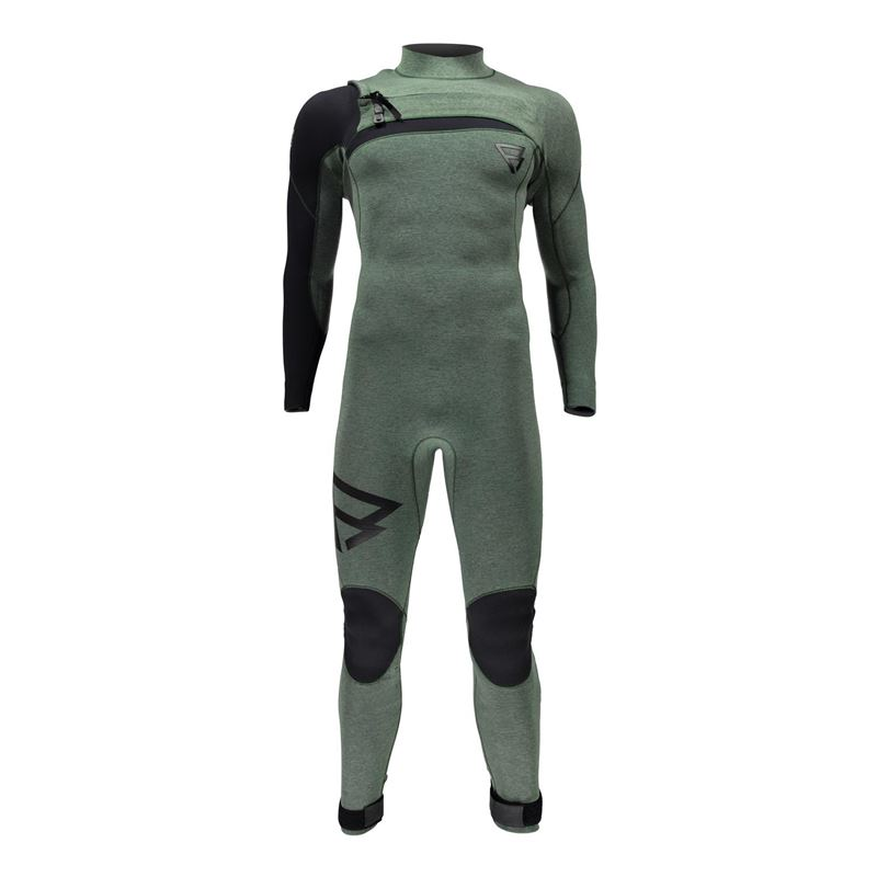 Brunotti Bravo 4/3 FZ Youri Zoon Men Wetsuit (Groen) - HEREN WETSUITS - Brunotti online shop