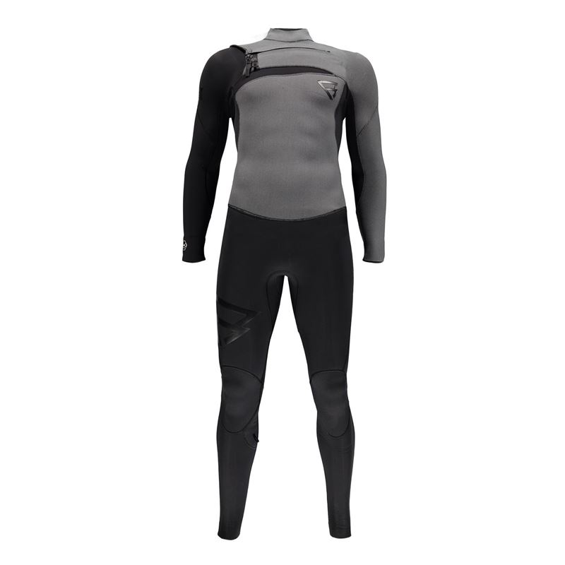 Brunotti Bravo 5/3 D/L Men Wetsuits (grey) - men wetsuits - Brunotti online shop