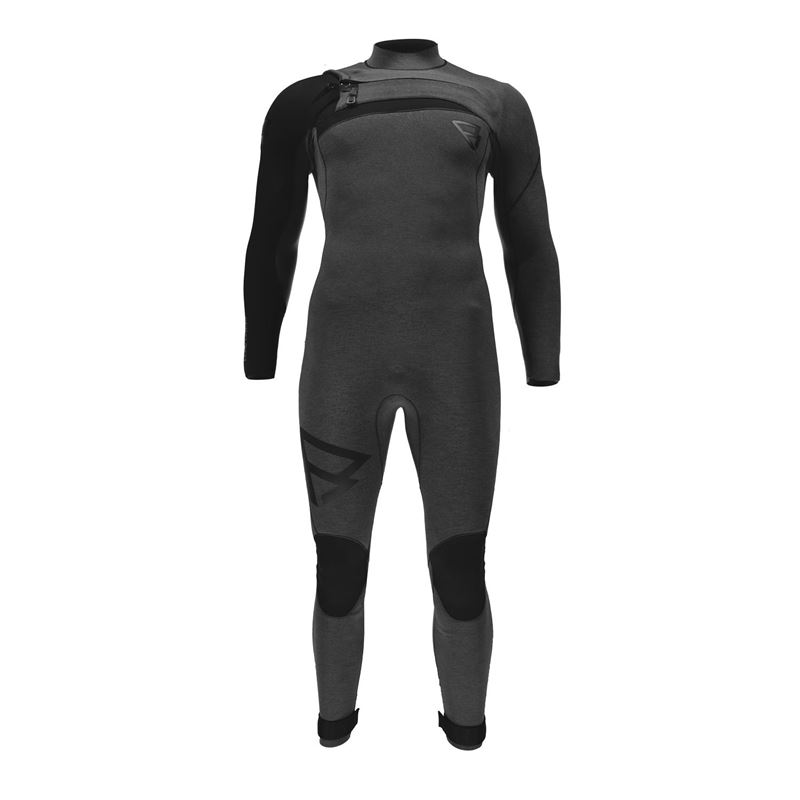 Brunotti Bravo 5/3 D/L Men Wetsuits (Zwart) - HEREN WETSUITS - Brunotti online shop