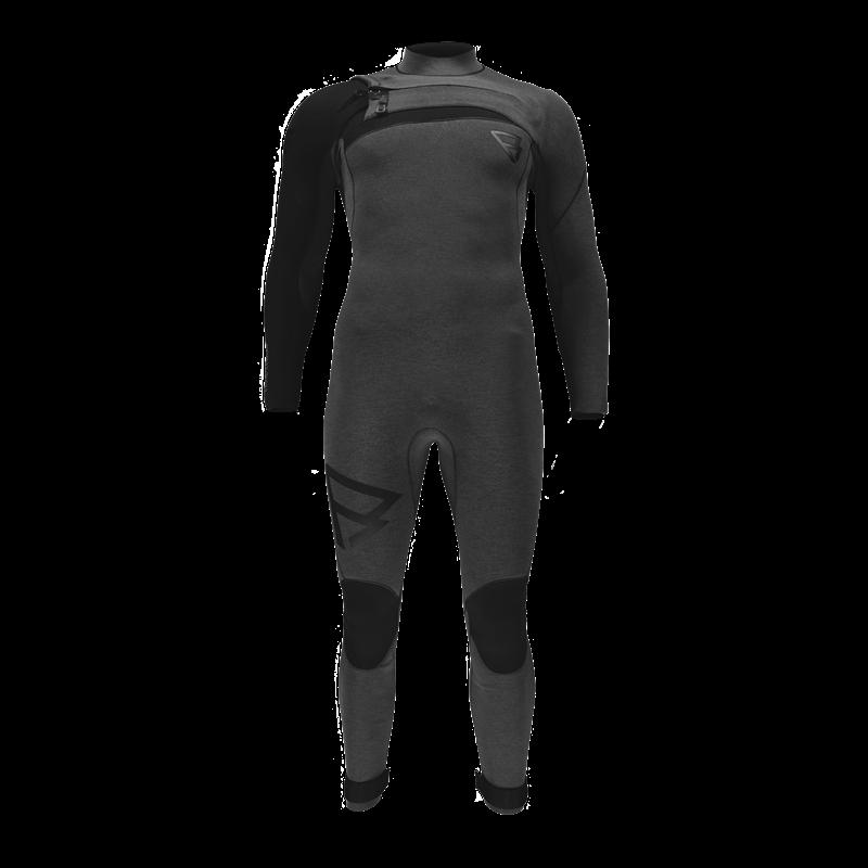 Brunotti Bravo Fullsuit (Black) - MEN WETSUITS - Brunotti online shop