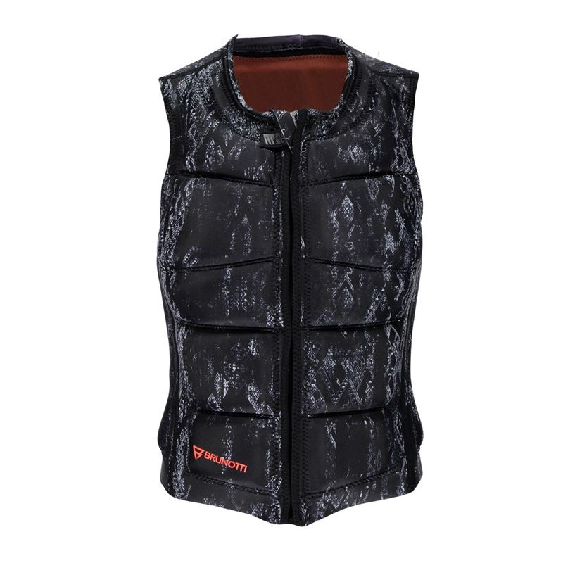 Brunotti Faded Wakevest (schwarz) - damen wake vests - Brunotti online shop
