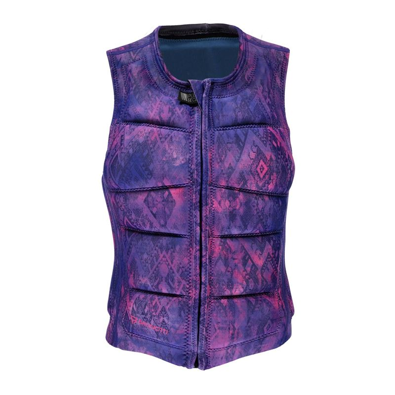 Brunotti Faded Wakevest (Purple) - WOMEN WAKE VESTS - Brunotti online shop