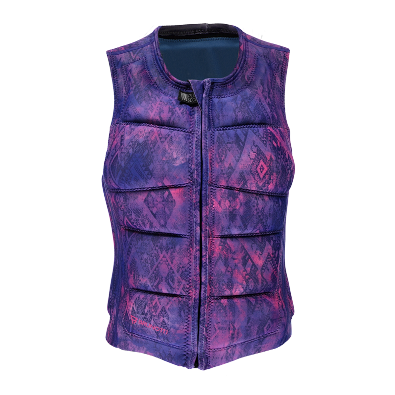Brunotti Faded Wakevest (Purple) - WOMEN WAKE VESTS - Brunotti online shop