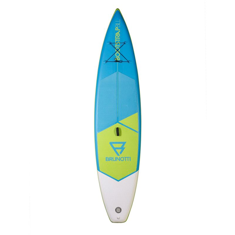 Brunotti Bootstrap Bill Race Uni SUP (Blau) - BOARDS INFLATABLE SUP - Brunotti online shop