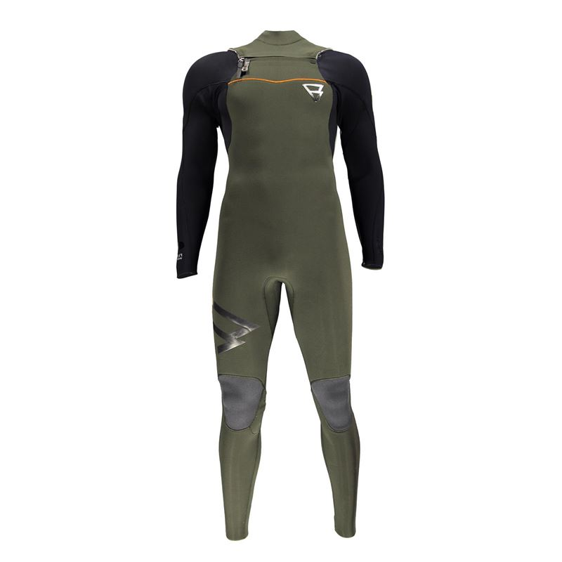 Brunotti Bravery 5/4 FZ Men Wetsuit (Green) - MEN WETSUITS - Brunotti online shop