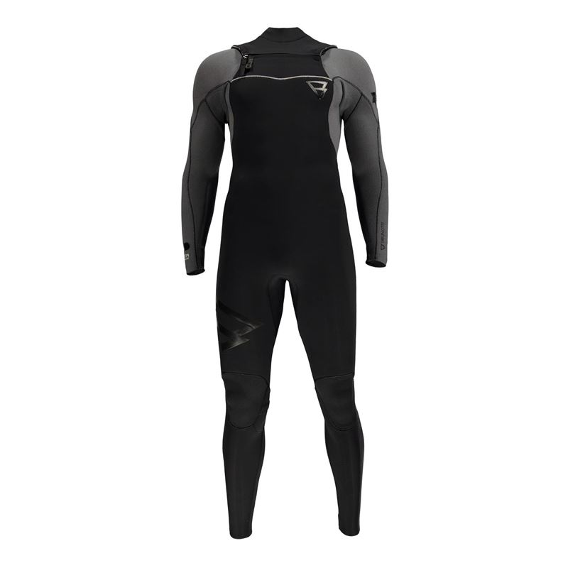 Brunotti Bravery 5/4 FZ Men Wetsuit (zwart) - heren wetsuits - Brunotti online shop