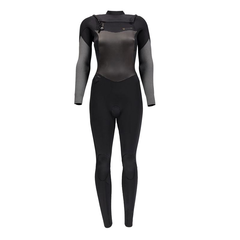 Brunotti Elite 5/4 FZ Women Wetsuit (zwart) - dames wetsuits - Brunotti online shop