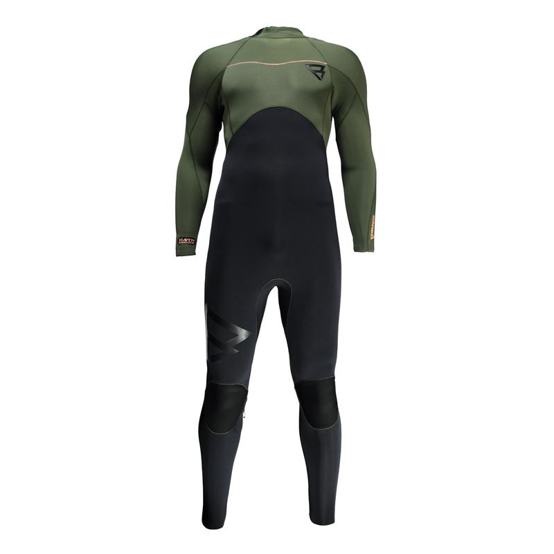 Brunotti Bravery 5/4 BZ Men Wetsuit (groen) - heren wetsuits - Brunotti online shop
