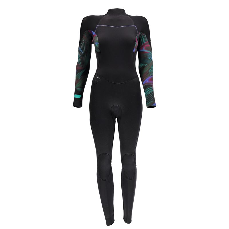 Brunotti Nightbird 5/4 BZ Women Wetsuit (Green) - WOMEN WETSUITS - Brunotti online shop